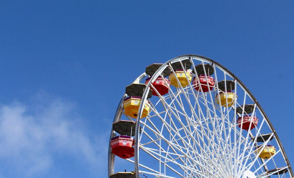 Grande roue à Santa Monica
