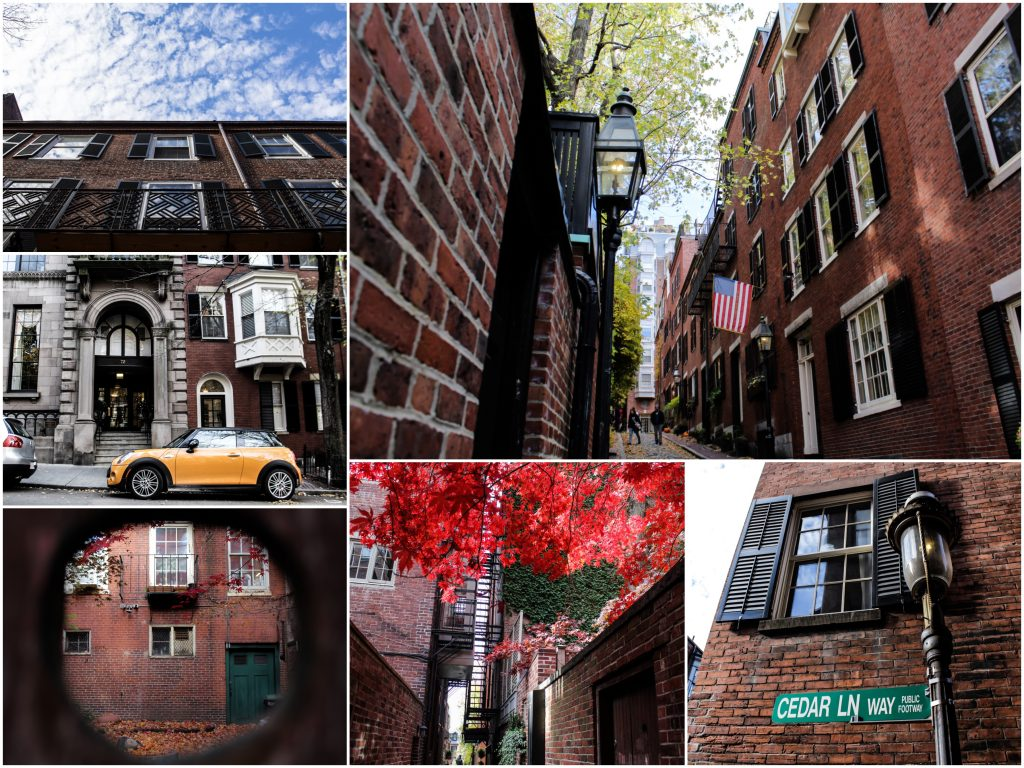 Beacon Hill, un des plus beaux quartiers de Boston