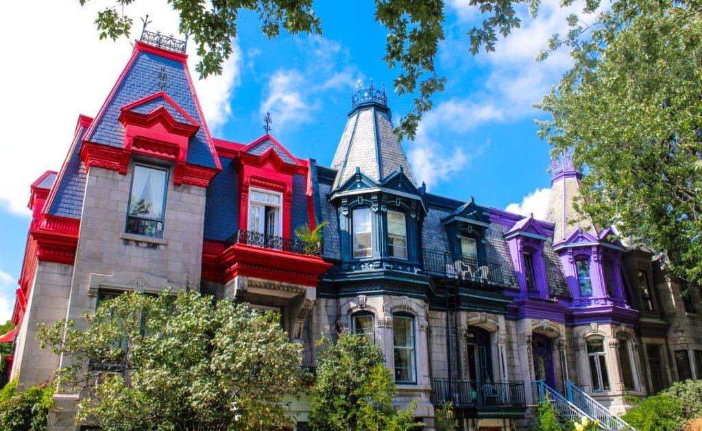 Les maisons du Square St-Louis