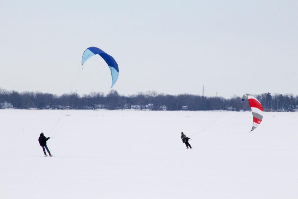 Session de snowsurf