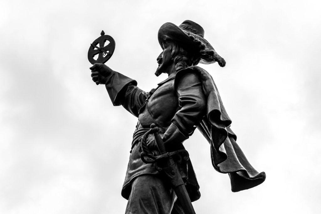 La statue Champlain
