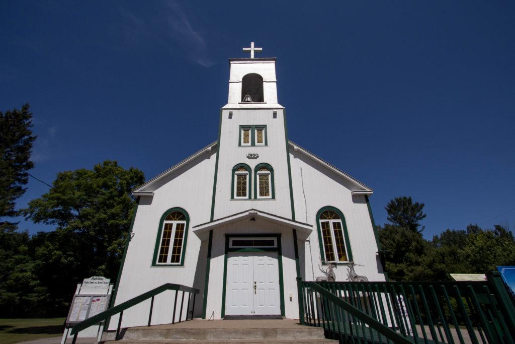 L'église de Duhamel dans l'Outaouais