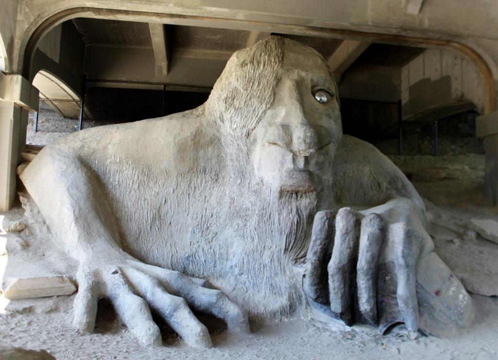 Le troll géant de Fremont