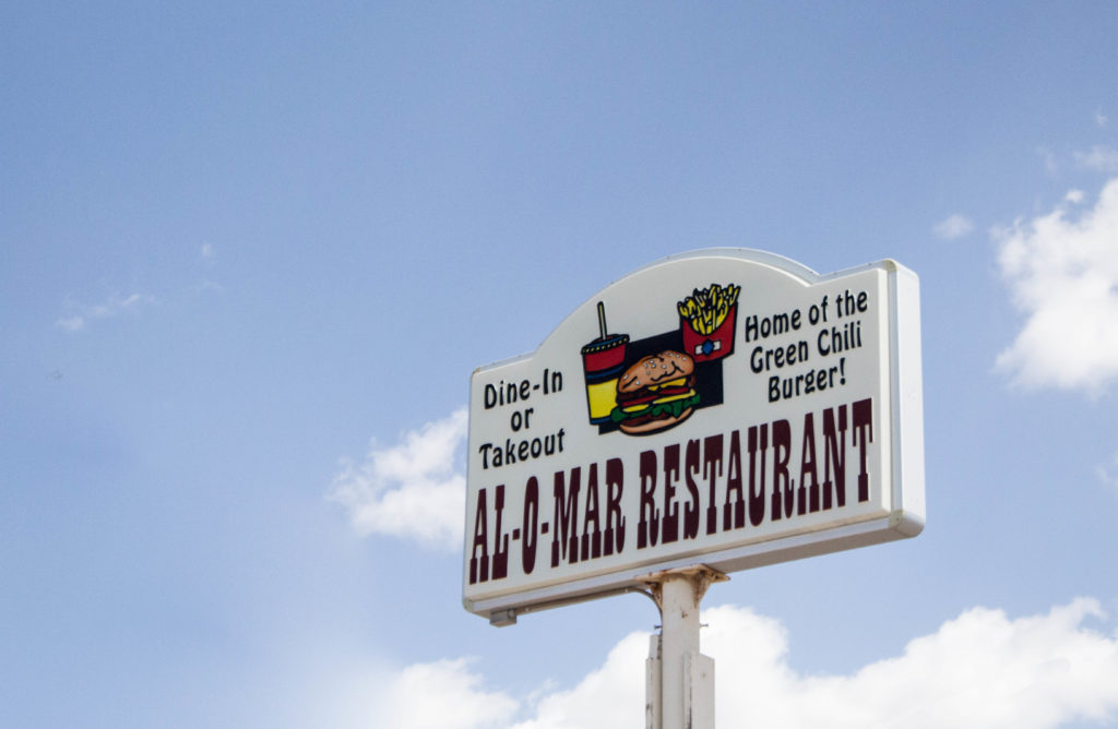 Al-O-Mar Restaurant à Tularosa, Nouveau-Mexique