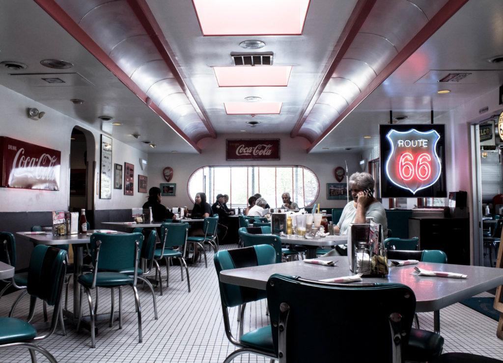 66 Diner à Albuquerque, Nouveau-Mexique
