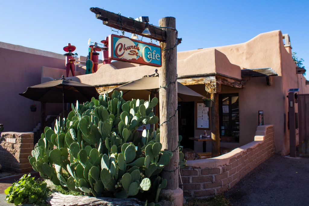 Church Street Cafe à Albuquerque, Nouveau-Mexique