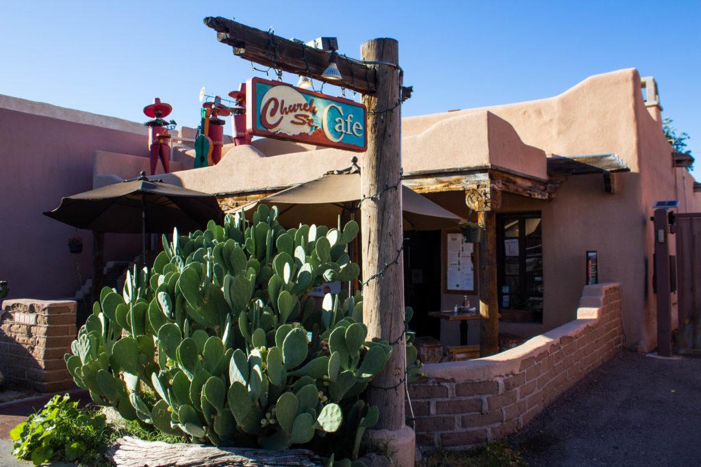 Church Street Cafe à Albuquerque, Nouveau-Mexique