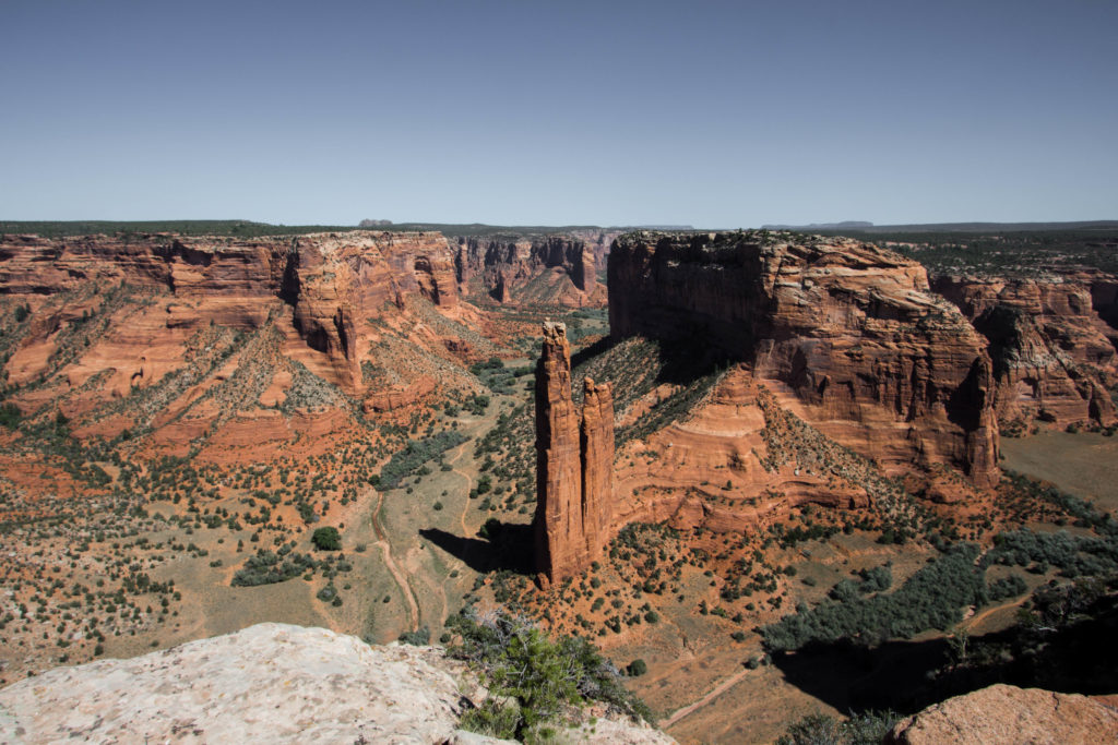 Spider Rock - Canyon de Chelly, Arizona