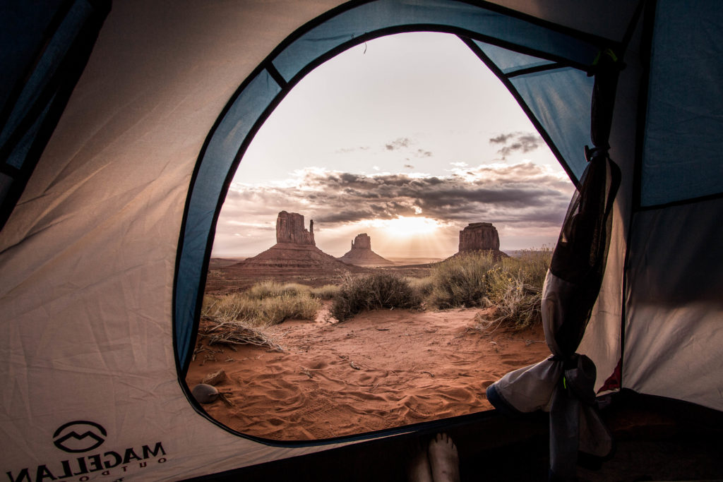 Campground The View à Monument Valley