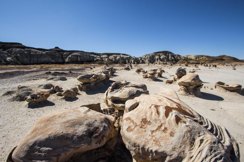 Bisti Badlands, Nouveau-Mexique