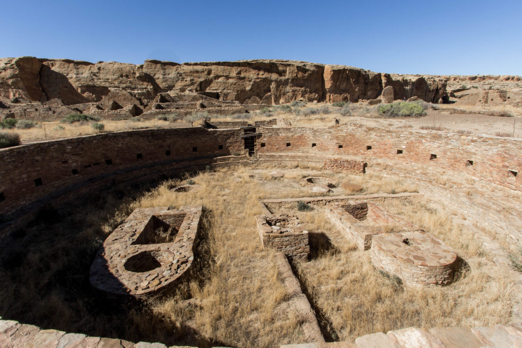 Chaco Culture National Historical Park.
