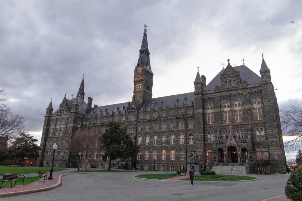La prestigieuse université de Georgetown à Washington DC