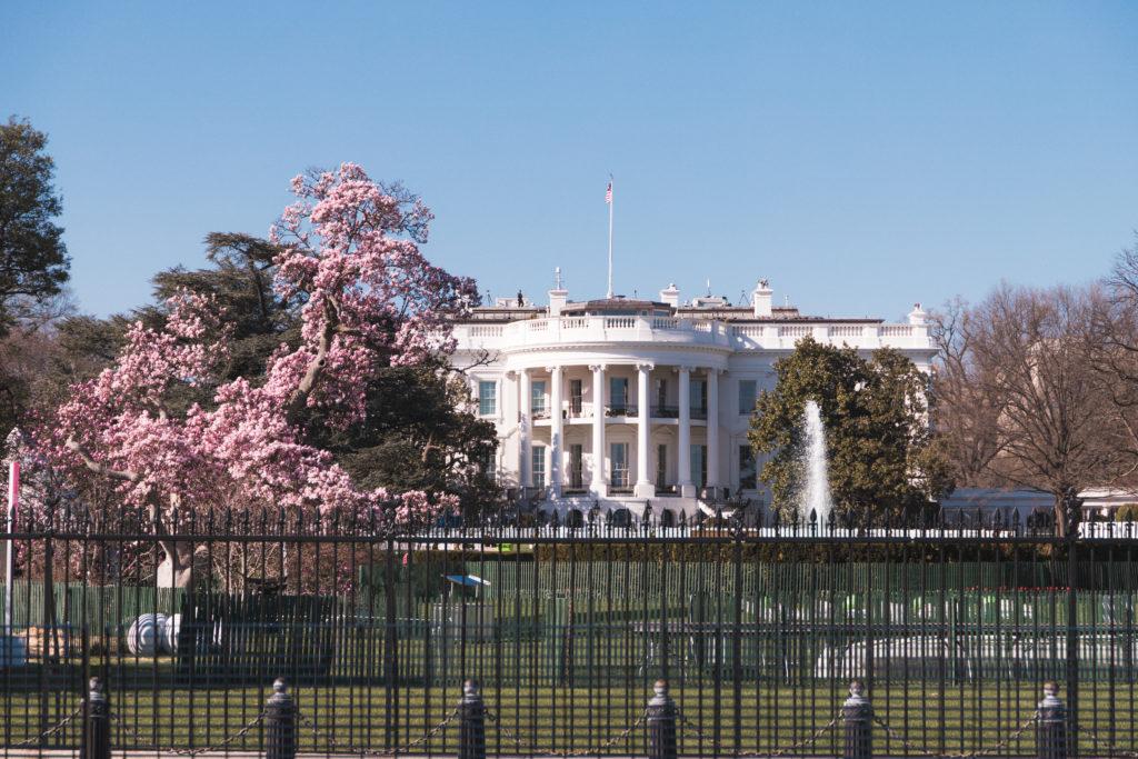 La Maison Blanc à Washington