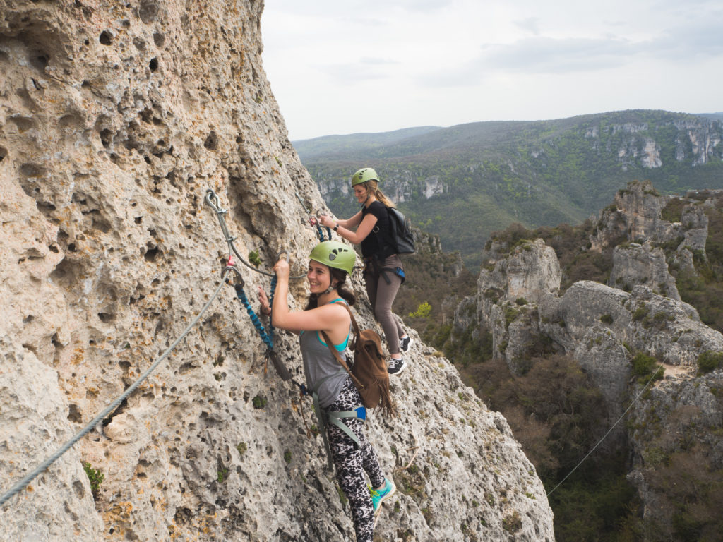 Via Ferrata - Aveyron