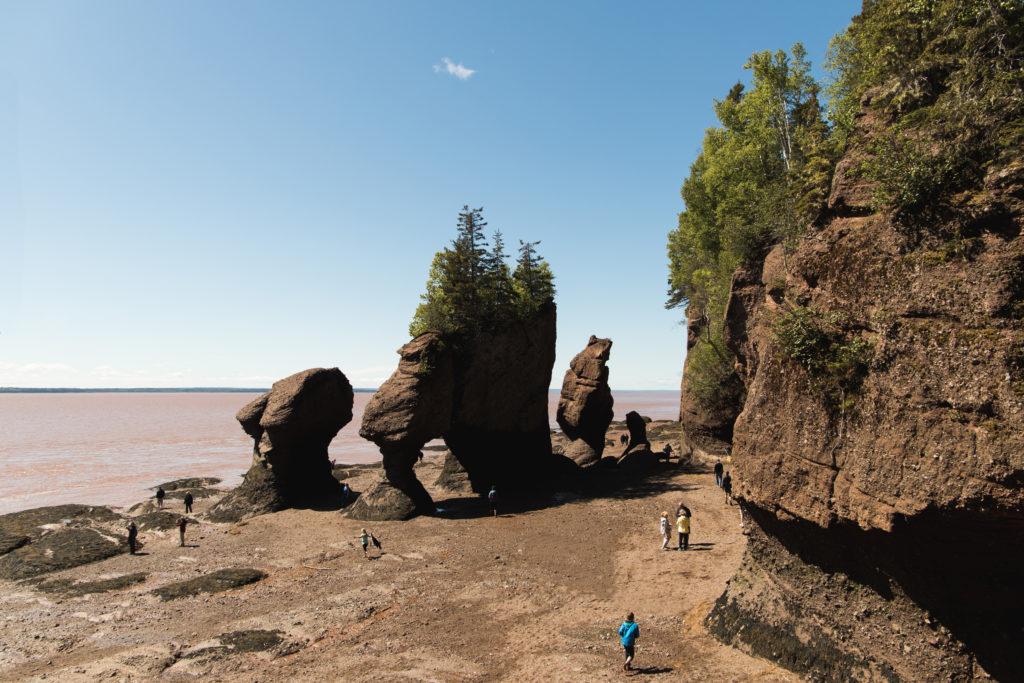 Hopewell Rocks, Nouveau-Brunswick
