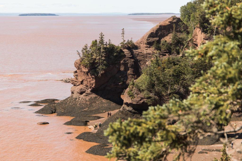 Hopewell Rocks - Baie de Fundy, Nouveau-Brunswick