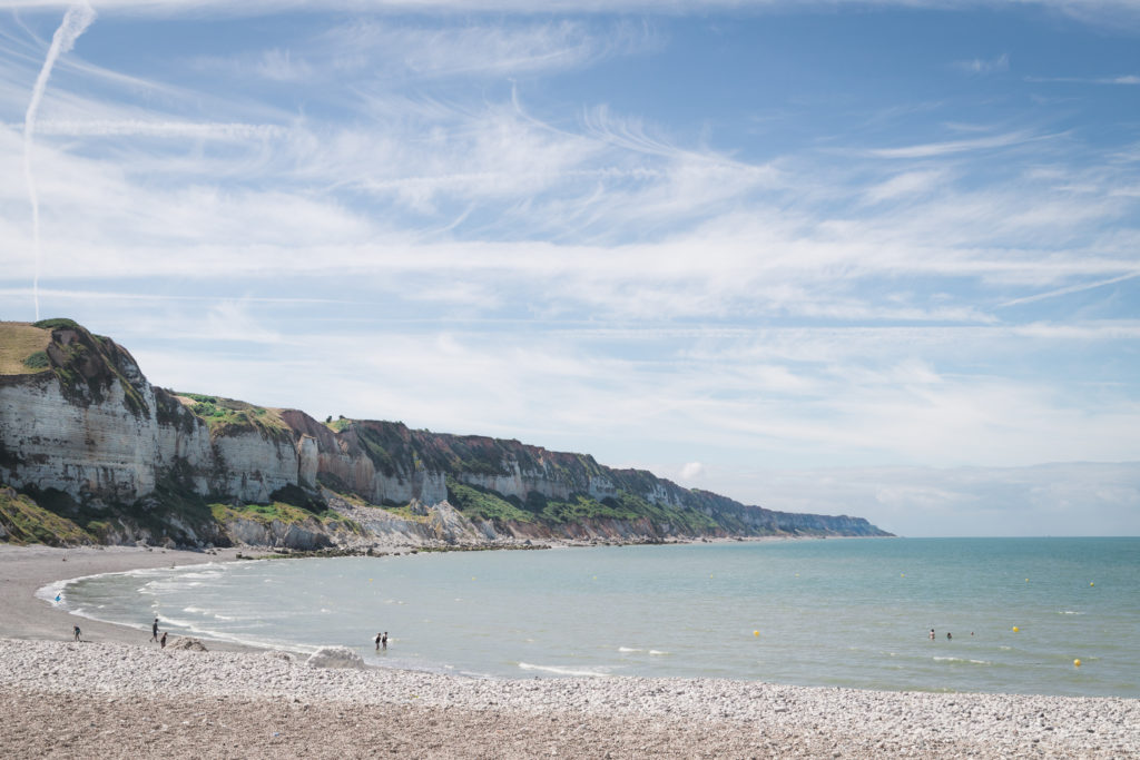 Week-end en Normandie | Plage de Saint-Jouin-Bruneval