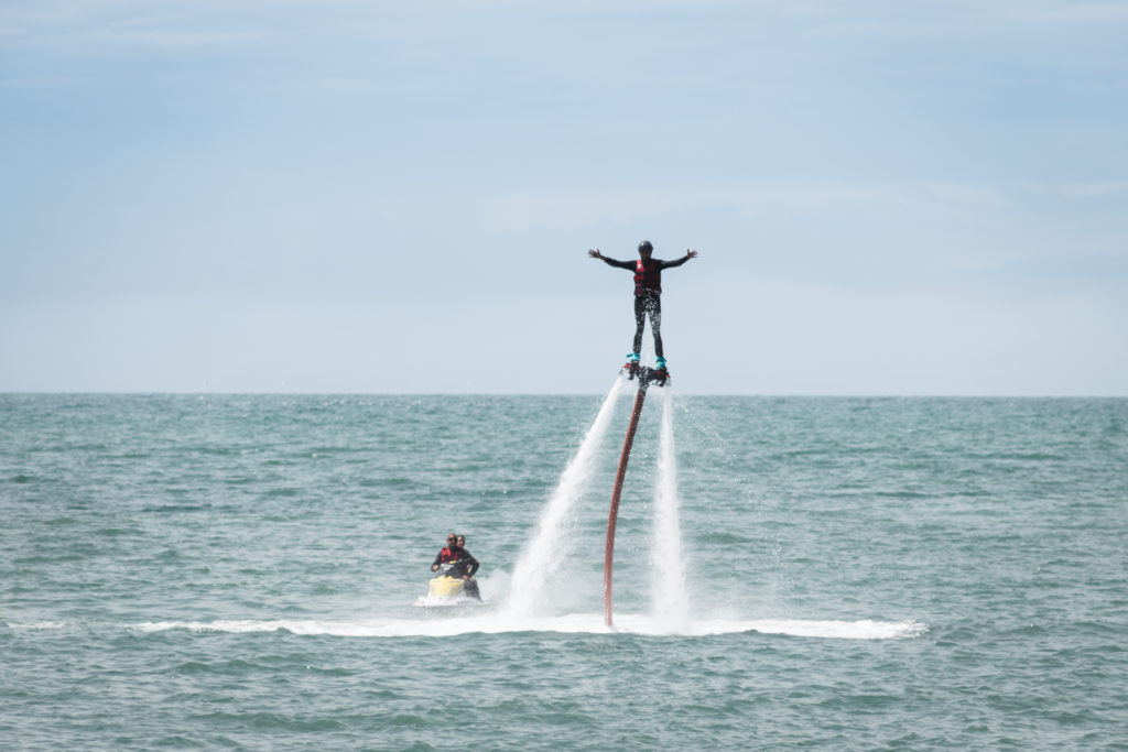 Week-end en Normandie | Flyboard