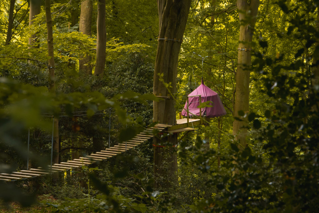 Week-end en Normandie | Fécamp - Tente suspendue à Woody Park