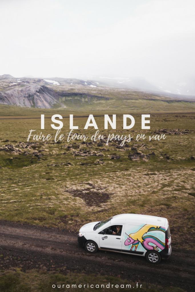 Faire le tour de l'Islande en van avec Kúkú Campers
