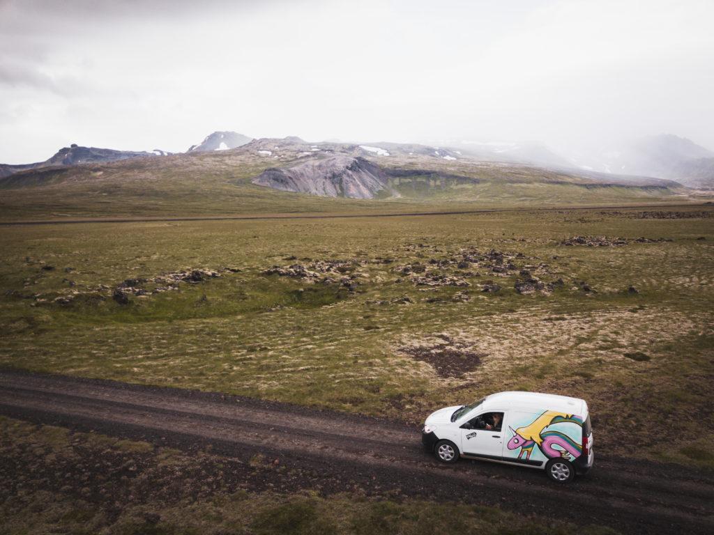 Voyage Islande Tour Van