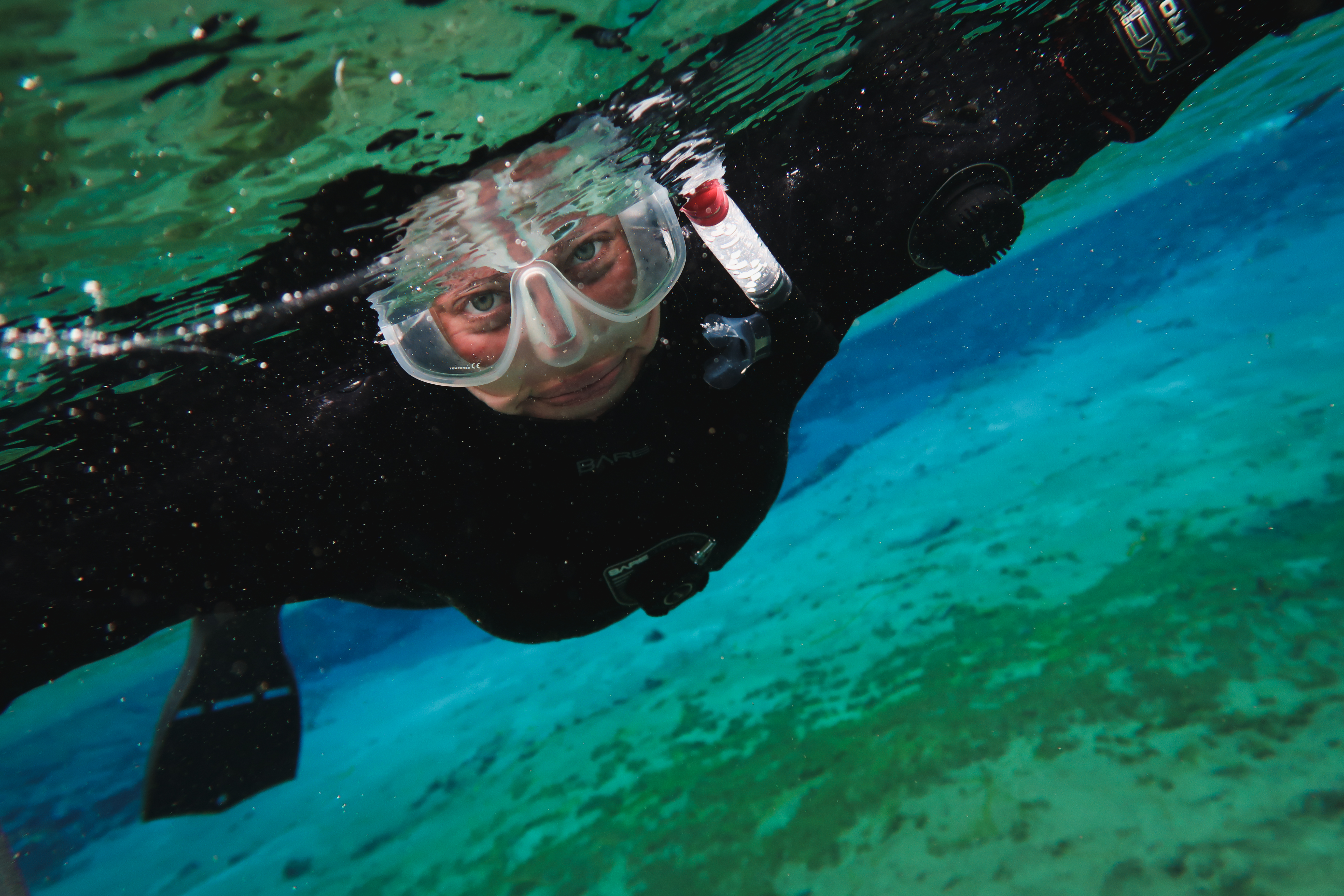 Islande | Faire du snorkeling dans une faille entre deux continent à Silfra