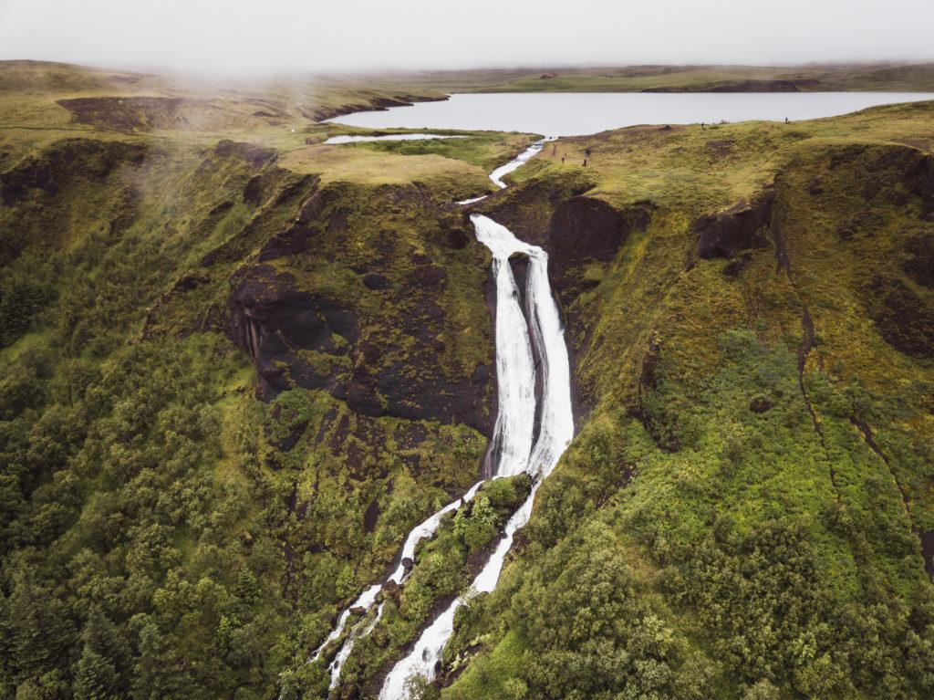 Islande | Le Cercle d'Or et les merveilles du sud - Kirkjubæjarklaustur, Systrafoss