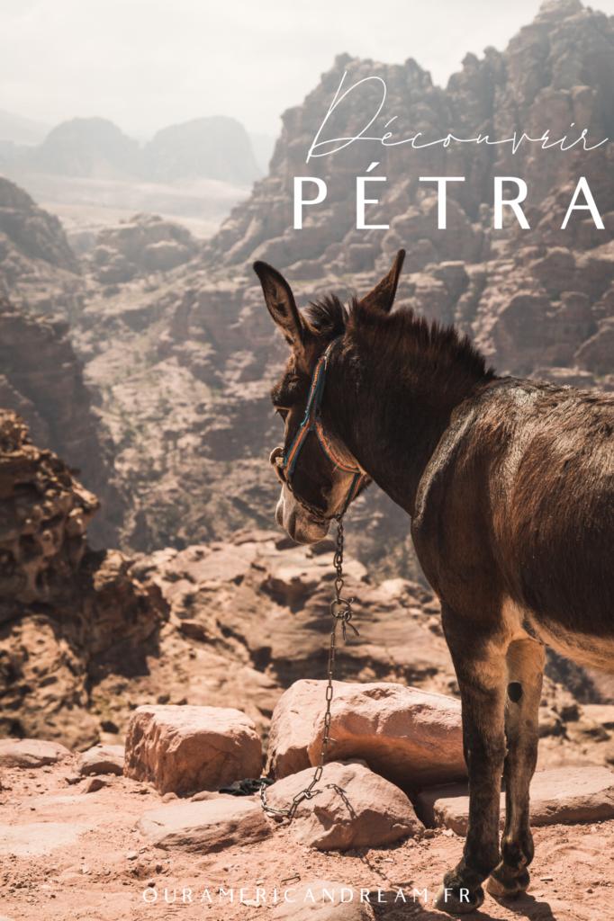 Découvrir Pétra en Jordanie