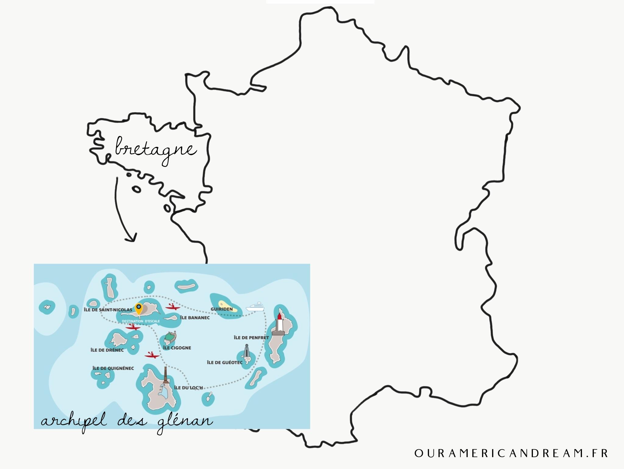 Bretagne | Une journée dans Les Glénan