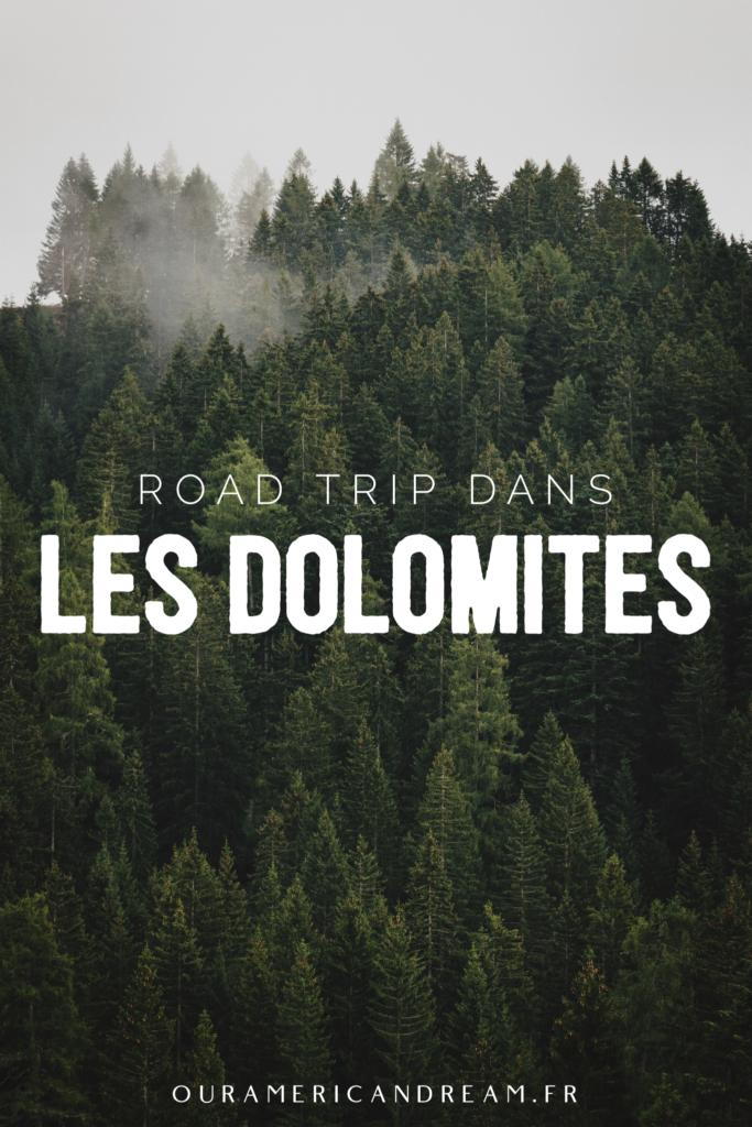 Road trip dans les Dolomites | Pinterest