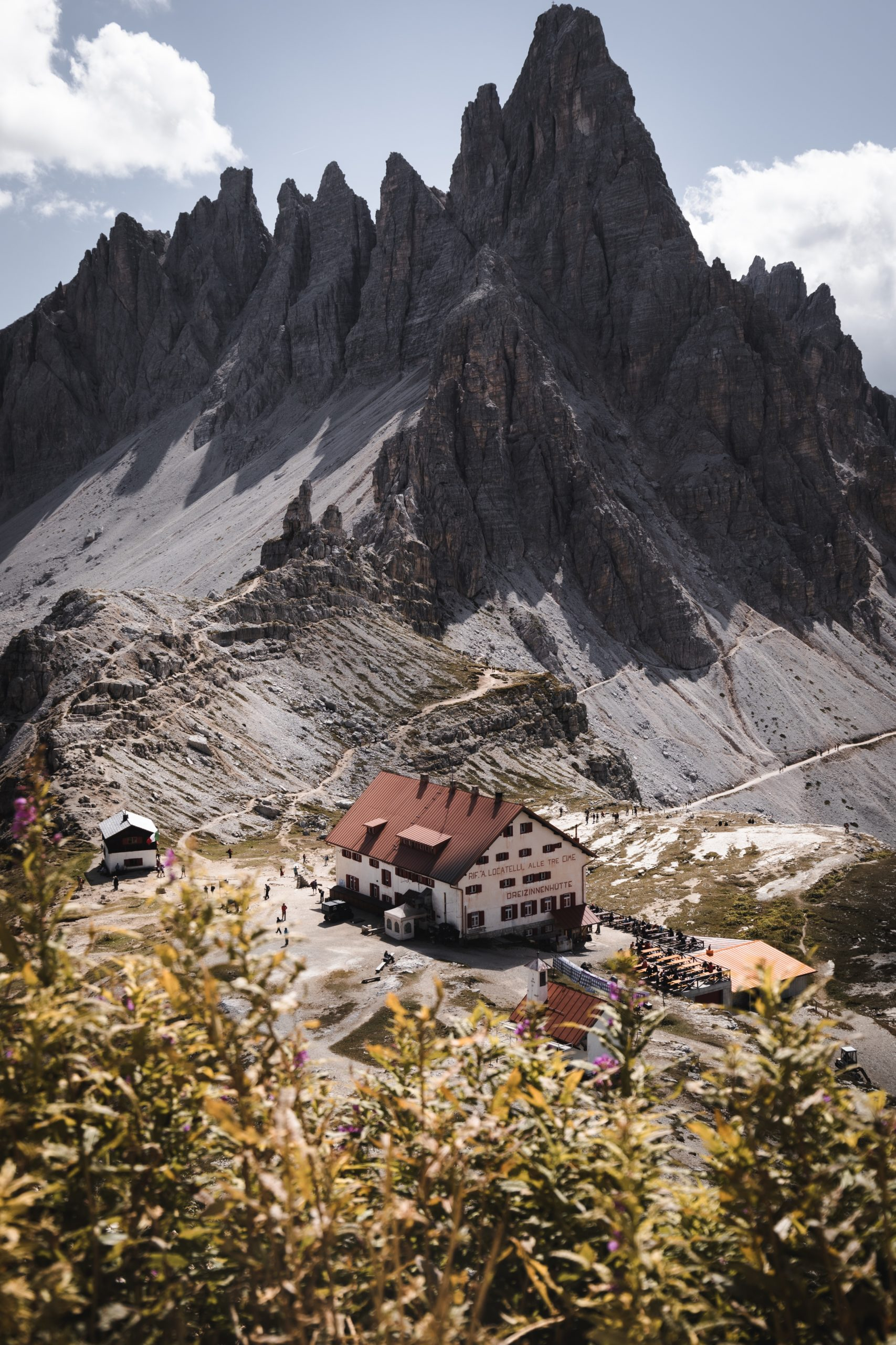 Road trip dans les Dolomites | Refuge Locatelli