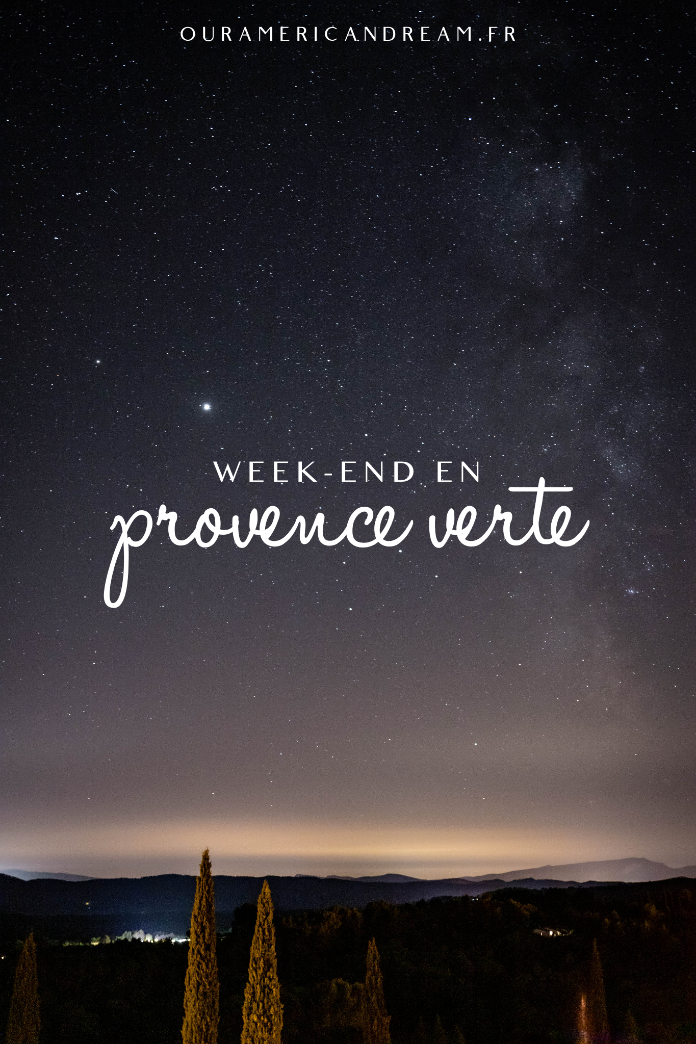 Week-end en Provence Verte